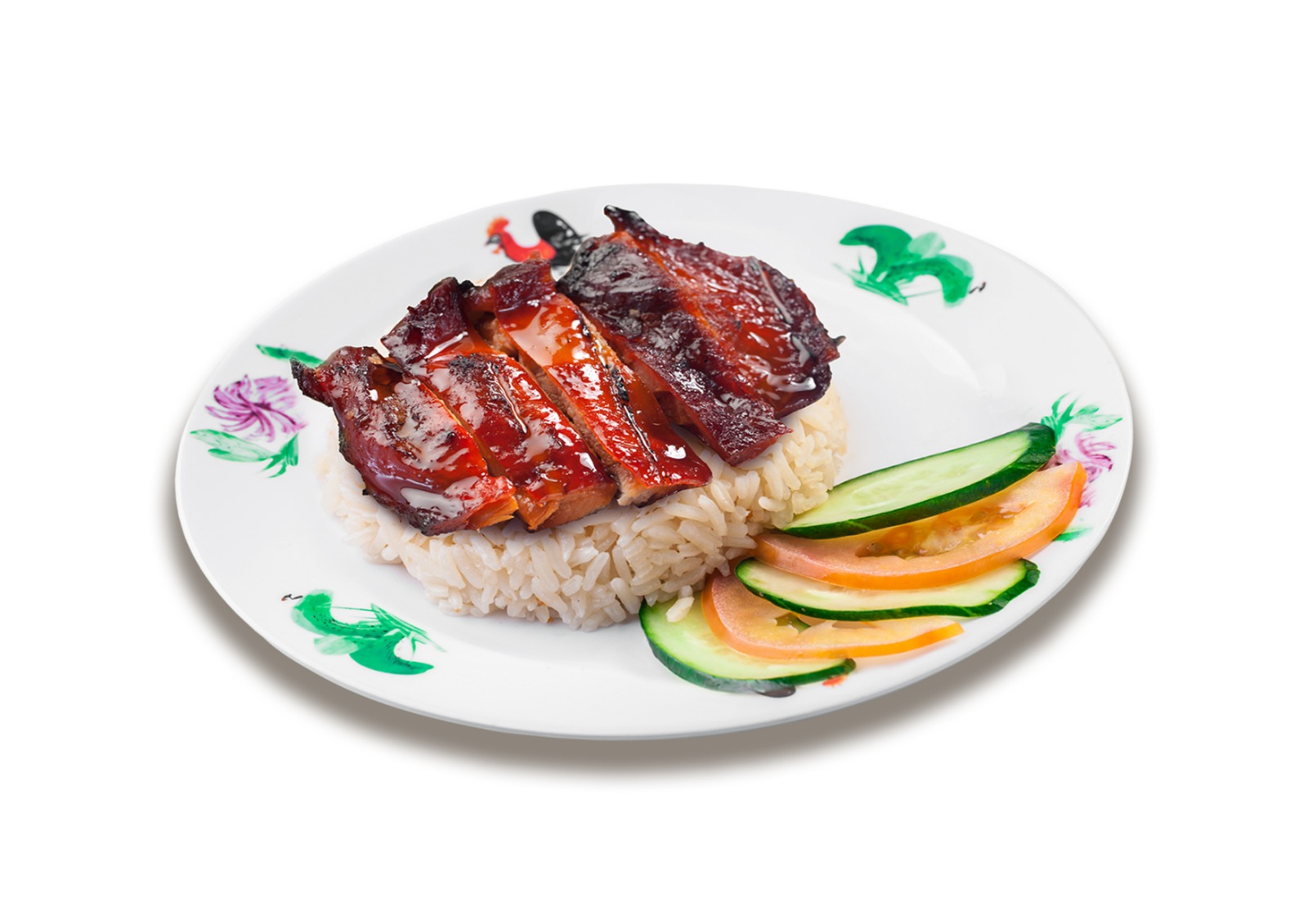 Chicken Char Siew Rice