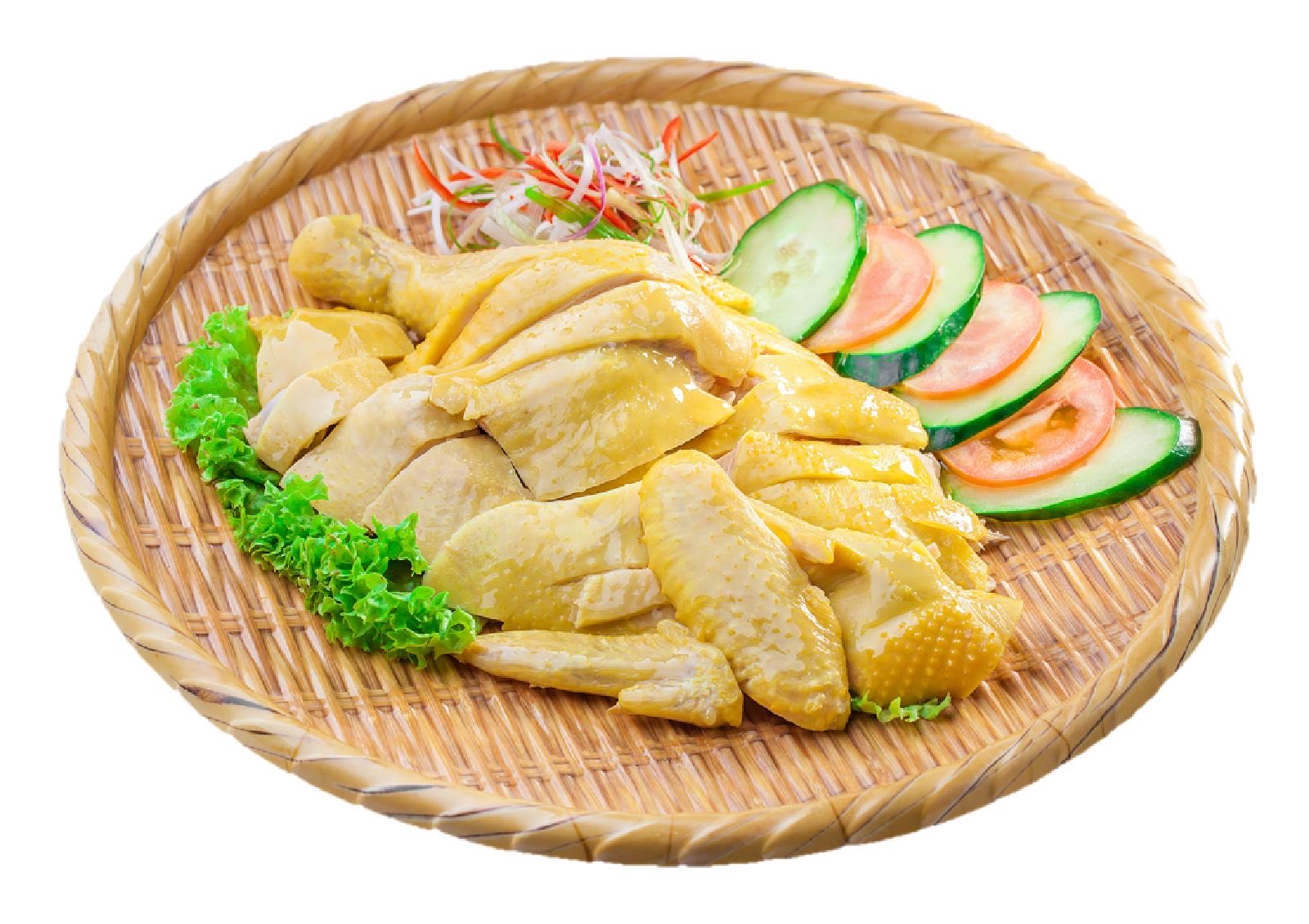 Steamed Chicken (Half)